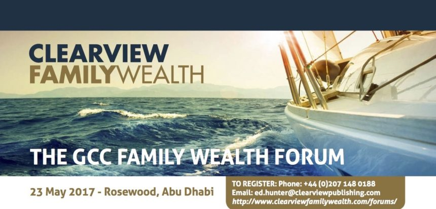4th GCC Family Wealth Forum at the Rosewood, Abu Dhabi